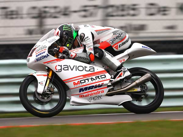 mahindra first moto3 win