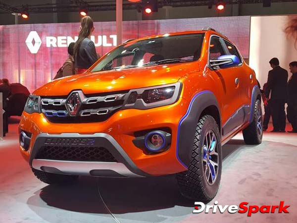 Renault Kwid Climber Racer Edition Could Launch By 2017