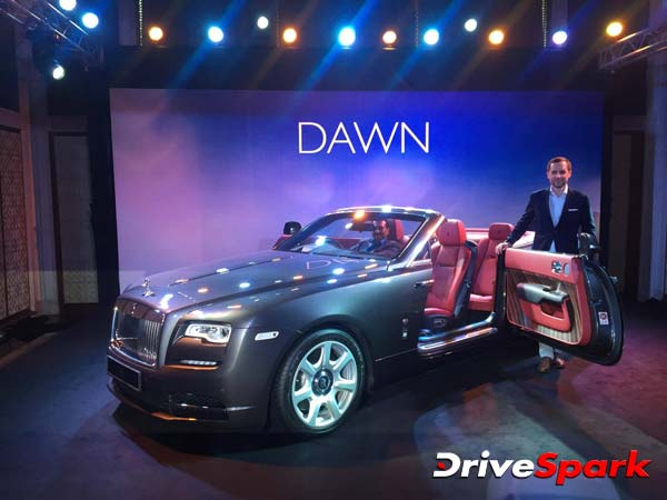 rolls-royce dawn india launch