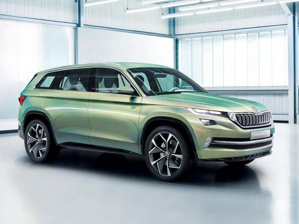 Skoda To Unveil Electric SUV In 2020