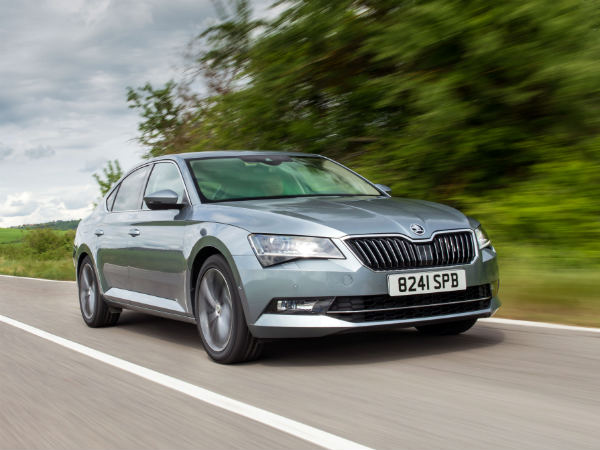 skoda superb with dynamic chassis control