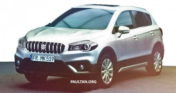 2017 Maruti S-Cross Facelift Spied: Production Begins