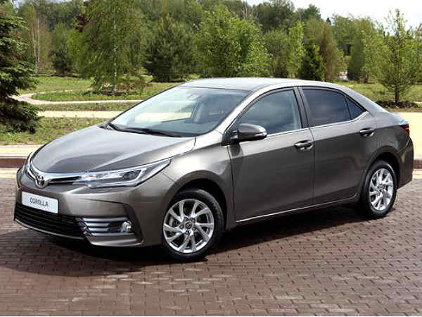 Toyota Corolla Altis Facelift Images Revealed In Images