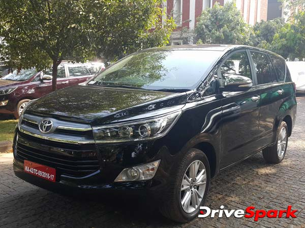 Toyota Innova Crysta Reaffirms As The Best Selling MPV In India