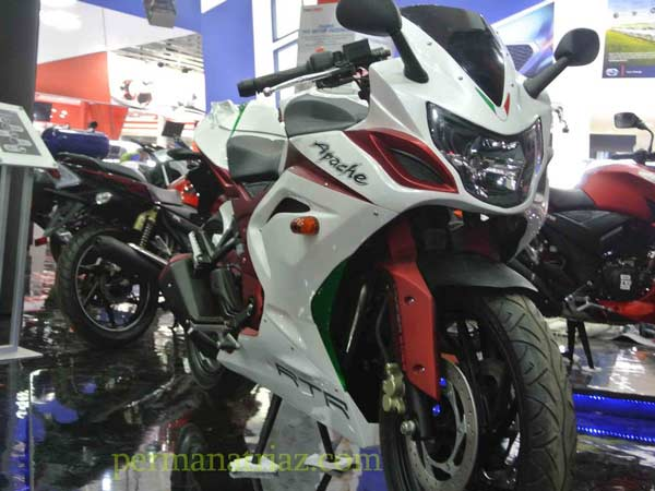 tvs apache rtr with full body fairing
