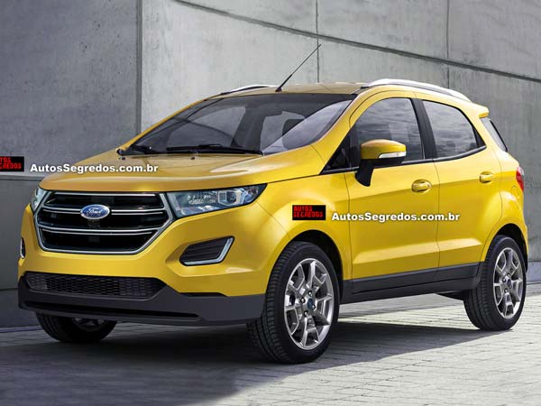 2017 Ford EcoSport Debuts In November Coming To India
