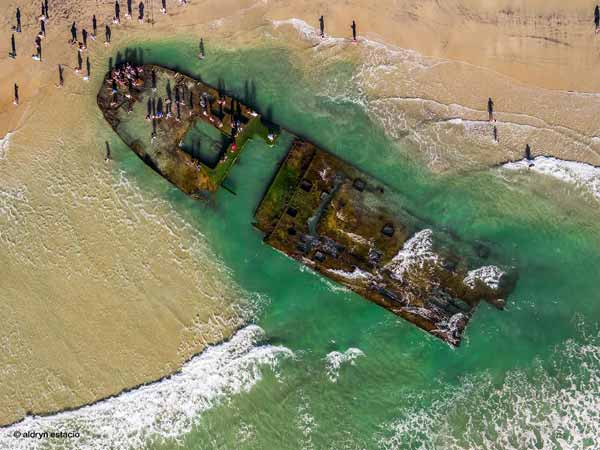 Sunk Gambling Ship Resurfaces After 80 Years - DriveSpark