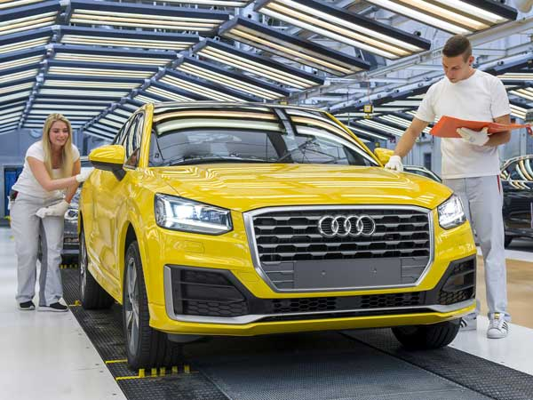 Audi's Smallest SUV Q2 Production Begins In Ingolstadt
