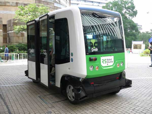 dena to launch driverless bus service