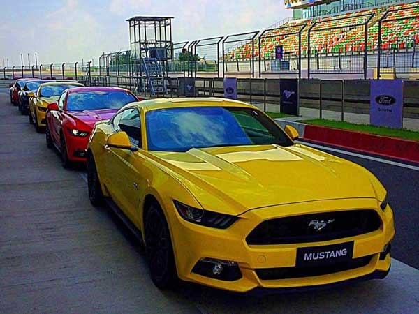 Ford Mustang Gt India Launch