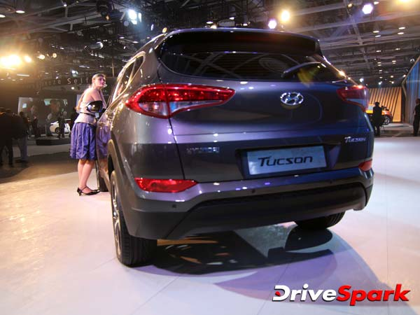 Hyundai Ticson rear view