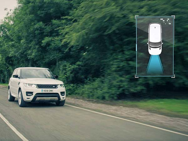 jaguar land rover autonomous off-road technology