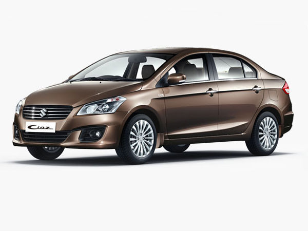 Maruti Ciaz Touches The Milestone Of One Lakh Units In India