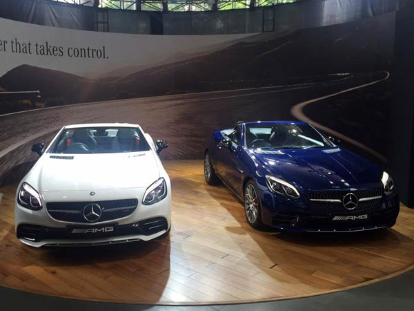 mercedes slc 43 amg india launch