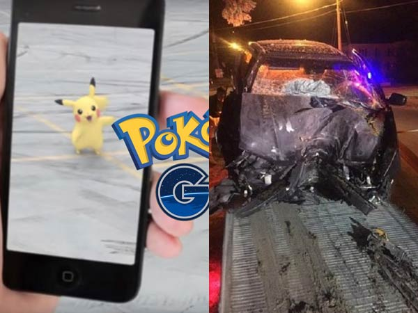 pokemon go car crash