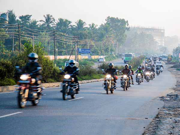royal enfield convoy