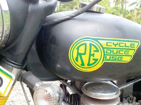 Royal Enfield Which Runs On Cooking Oil
