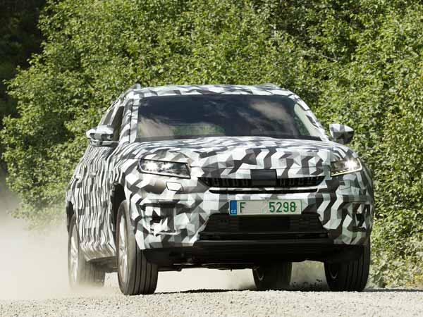 Skoda Kodiaq Teased, Engine Details Revealed