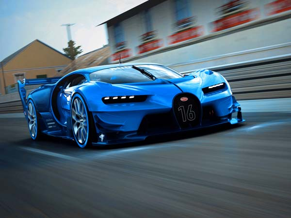 The Bugatti Vision Gran Turismo — Video Game Car Brought To Life
