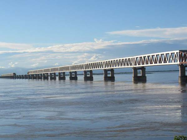 Bridge Over The Mighty Brahmaputra