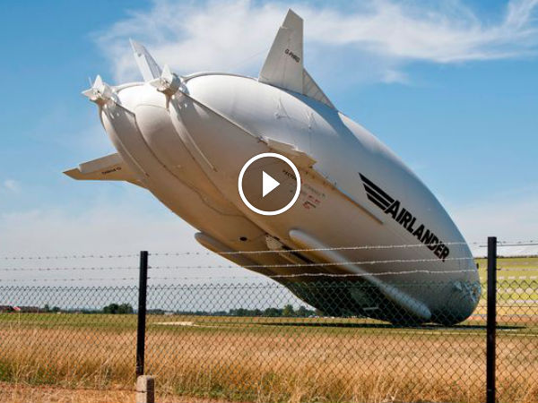 World's Largest Aircraft, Airlander 10 Crashes After ...