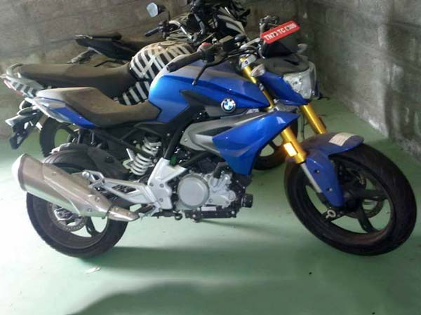 bmw g310r spy shot