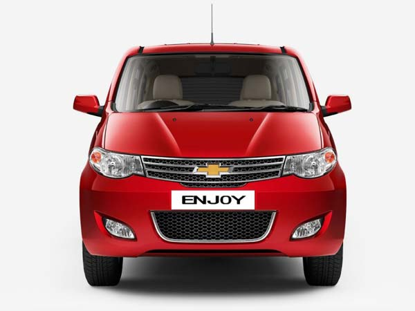 chevrolet india benefits on enjoy mpv