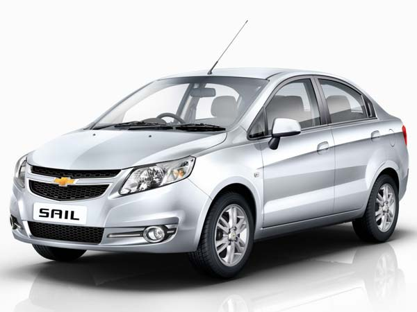 chevrolet india benefits on sail sedan