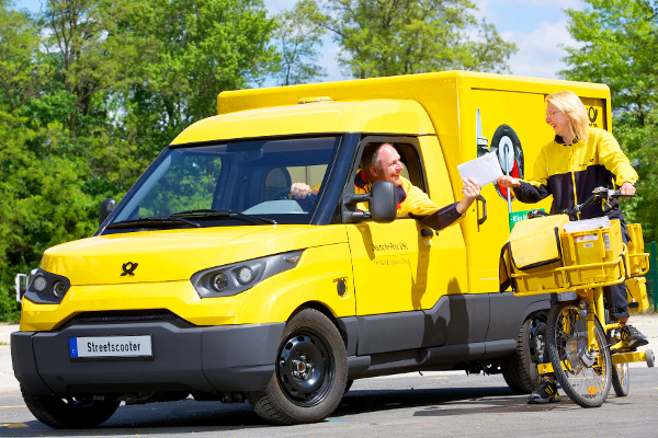 DHL's Electric Van Called The Streetscooter