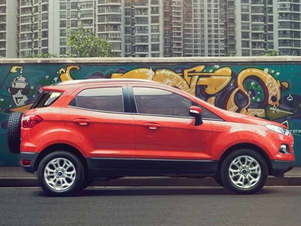 Ford EcoSport Receives Dual Front Airbags As Standard