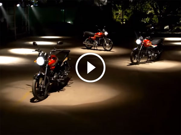 Hero MotoCorp Reveal Three New Dawn Motorcycles In A Video