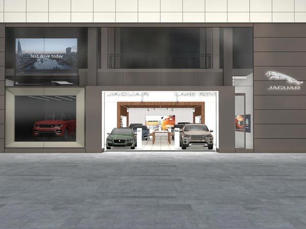 Jaguar Land Rover Digital Stores