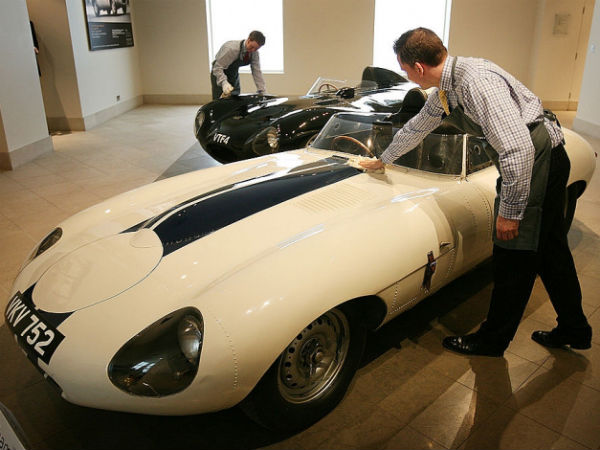 jaguar d type pebble beach
