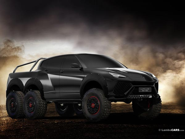 Lamborghini's Most Awaited SUV Gets A Crazy Touch