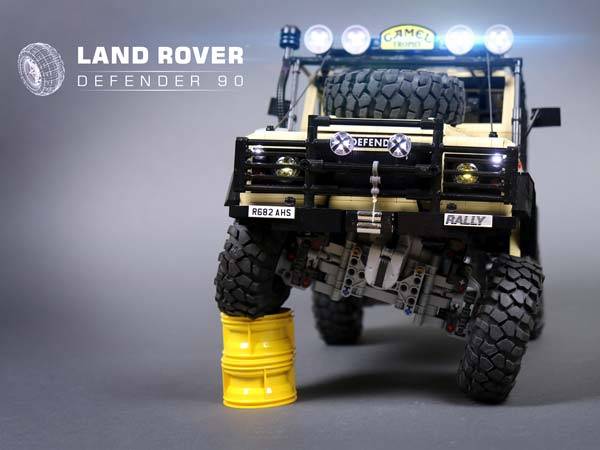 lego land rover defender 90 is a brilliant tribute to an. Black Bedroom Furniture Sets. Home Design Ideas