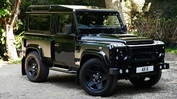 london motor show edition defender 90