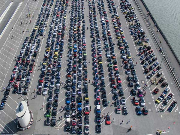 Largest Gathering Of Smart Cars