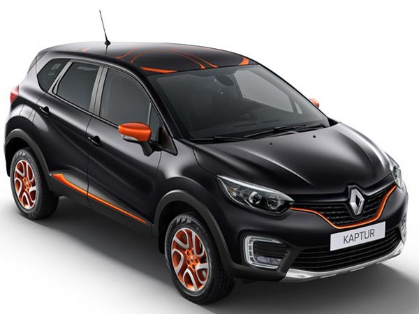 renault kaptur extra customisation india