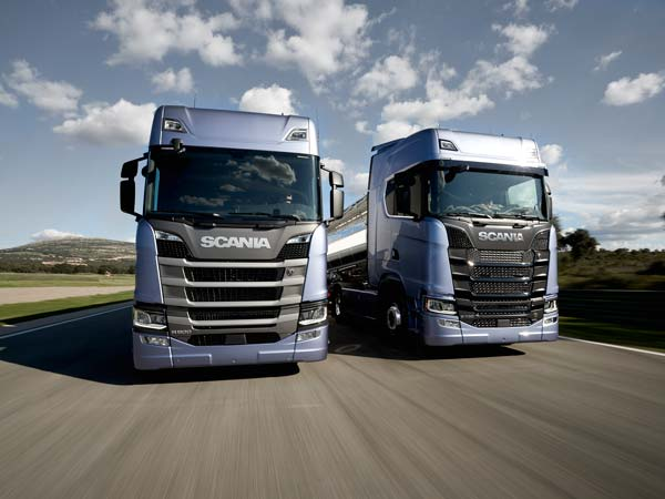 scania launches new r and s series trucks drivespark news. Black Bedroom Furniture Sets. Home Design Ideas
