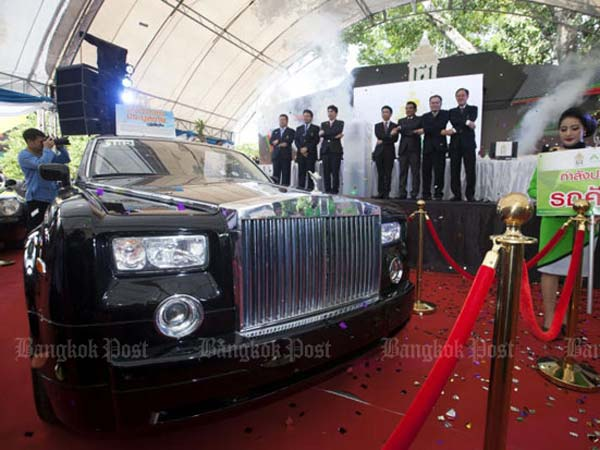 thailand customs smuggled vehicle auction