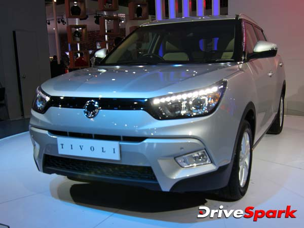 ssangyong tivoli india launch