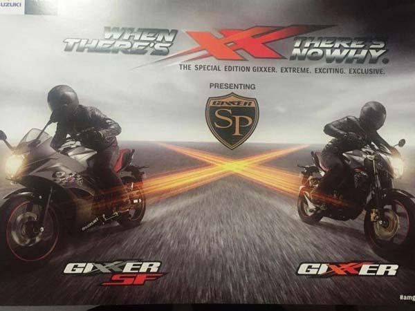Suzuki Gixxer & Gixxer SF Special Edition Treatment For Festive Season