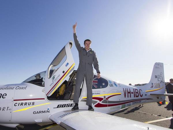 Teen Pilot Sets World Record For Solo Trip Around The Globe