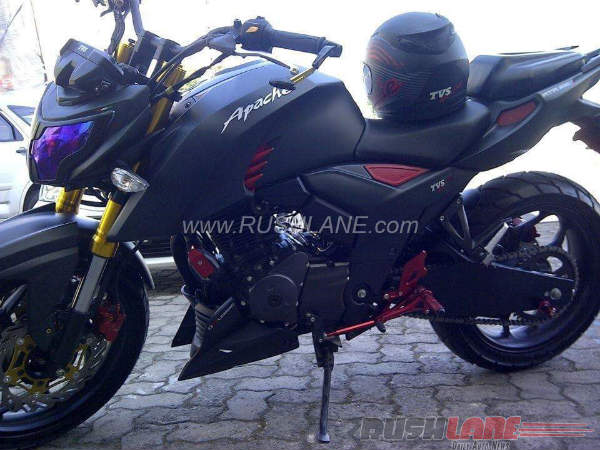 TVS Apache RTR 200 Modified Tastefully In Indonesia