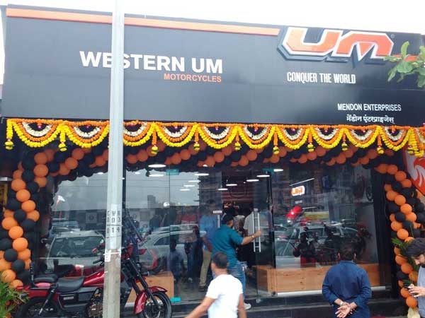 UM Motorcycles Inaugurates Its Sole Mumbai Dealership