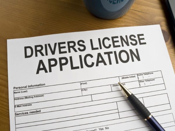 revised driving license fees
