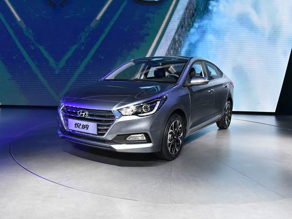 2017 Hyundai Verna Breaks Cover In China