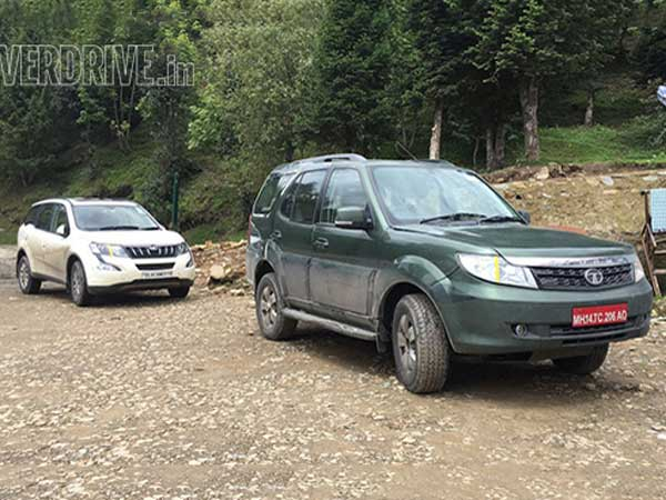 Tata Safari Storme Caught Testing With An All-New Diesel Engine