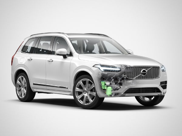 Volvo To Launch A Hybrid Variant Of The XC90 On September 14