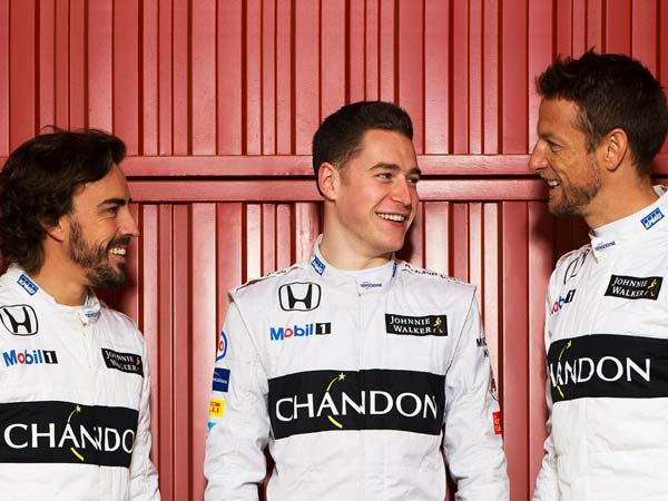 Button Signs 2-Year McLaren Deal; Vandoorne And Alonso Teammates For 2017